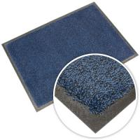 Washable Doormat - Black / Blue