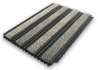Premier Track Grey interlinking tiles Entrance Matting