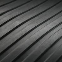 Wide Rib Rubber Matting Closeup 6mm