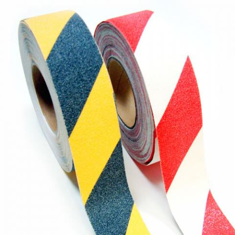 Grit Tape Hazard - Red/White