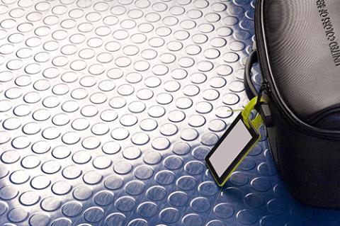 Studded Rubber Tile blue