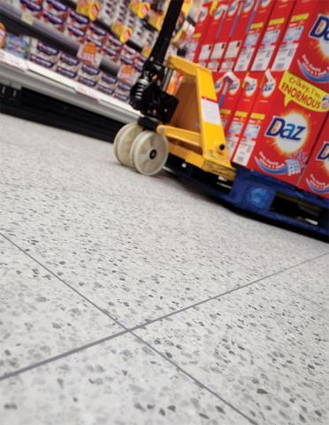 Tough-Lock Naturals Terrazzo supermarket