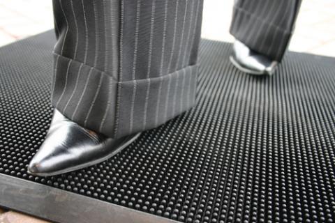 Fingertip Doormat